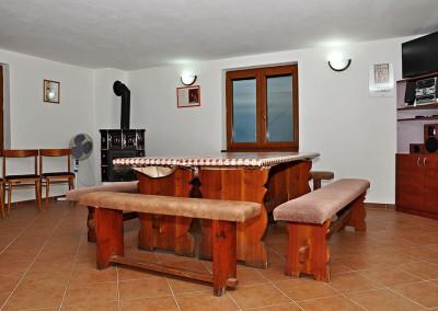 Penzion Kadlec Zaječí - společenská místnost